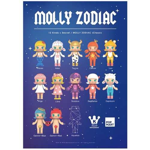 Pop Mart Molly - Zodiac Series by Kenny Wong