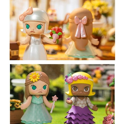 Pop Mart Molly - Wedding Flower Girl Series by Kenny Wong