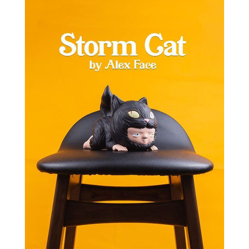 Mighty Jaxx [Pre-Order] Storm Cat by Alex Face