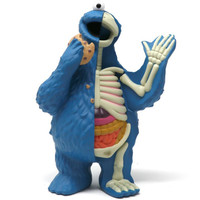 Cookie Monster (Sesame Street) XXRAY Plus by Jason Freeny