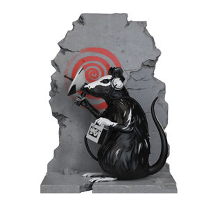 Mighty Jaxx Radar Rat by Brandalised x Banksy