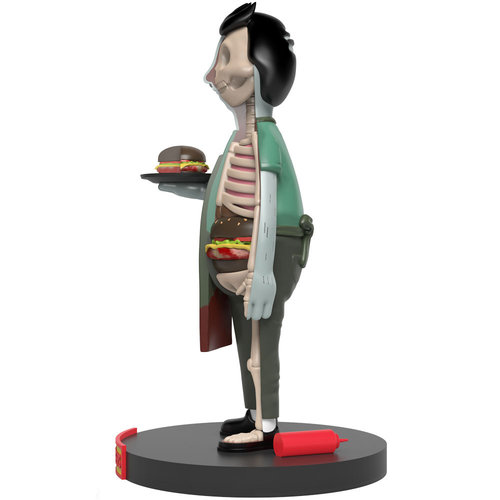 Mighty Jaxx [Pre-Order] Bob Belcher (Kales From The Crypt) Bobs Burgers XXRAY Plus by Jason Freeny