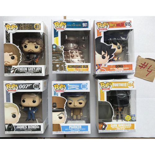 Funko Funko POP! - Damaged Box set #04 by Funko