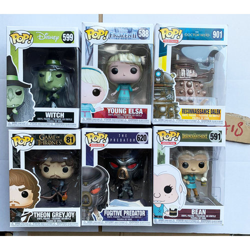 Funko Funko POP! - Damaged Box set #18 by Funko