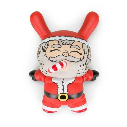 "Kidrobot 3"" Chunky Holiday Santa Dunny by Alex Solis"