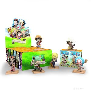Mighty Jaxx Hidden Dissectables (One Piece) Blind Box Series by Jason Freeny