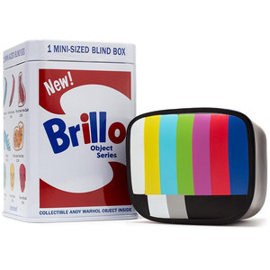 Kidrobot Andy Warhol Brillo Box Series 1