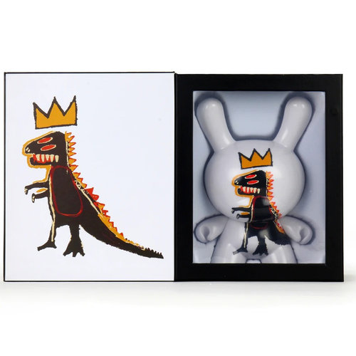 "Kidrobot 8"" PEZ Dispenser Masterpiece Dunny by Jean-Michel Basquiat"