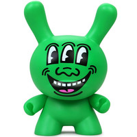 "8"" Three-Eyed Face Masterpiece Dunny by Keith Haring"