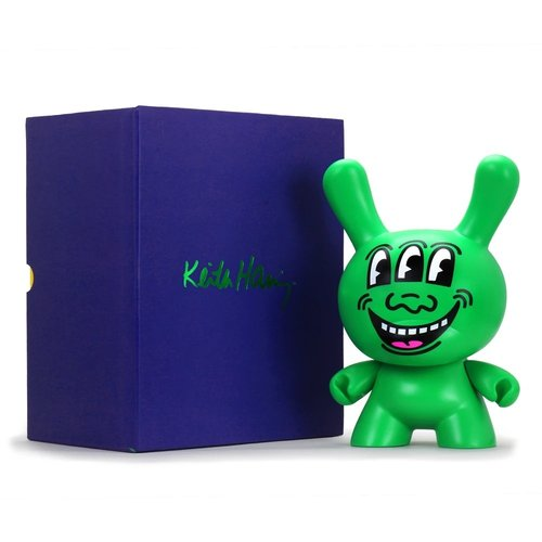 "Kidrobot 8"" Three-Eyed Face Masterpiece Dunny by Keith Haring"