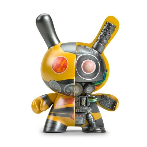 "Kidrobot 5"" Dairobo B (Half Ray) Dunny by Dolly Oblong"