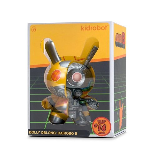"Kidrobot 5"" Dairobo B (Half Ray) Dunny by Dolly Oblong"