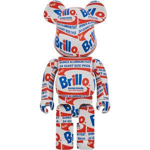 Medicom Toys 1000% Bearbrick - Andy Warhol (Brillo)