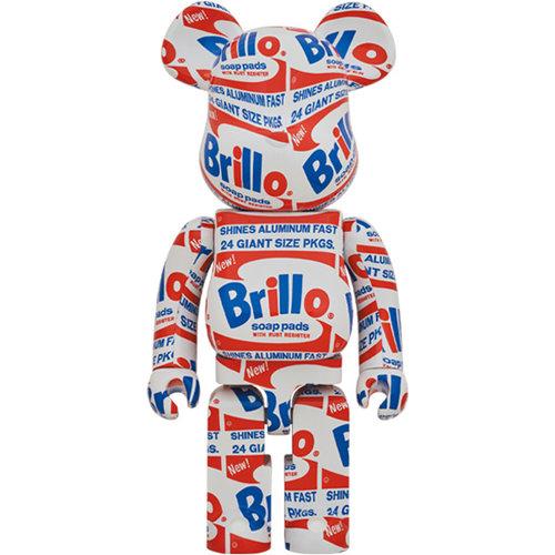 Medicom Toys [Pre-Order] 1000% Bearbrick - Andy Warhol (Brillo)