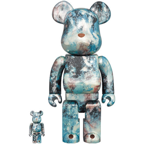 Medicom Toys 400% & 100% Bearbrick set - Pushead (Vol. 5)
