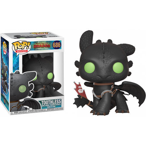 Funko Toothless #686 (How to train your dragon) POP! Movies