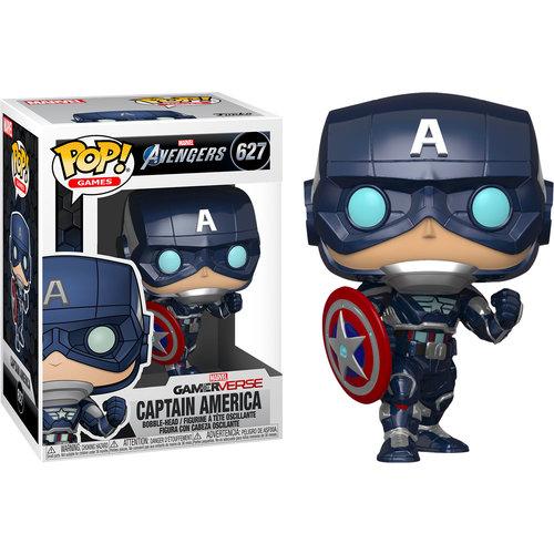 Funko Captain America #627 (Avengers Gamerverse) POP! Games