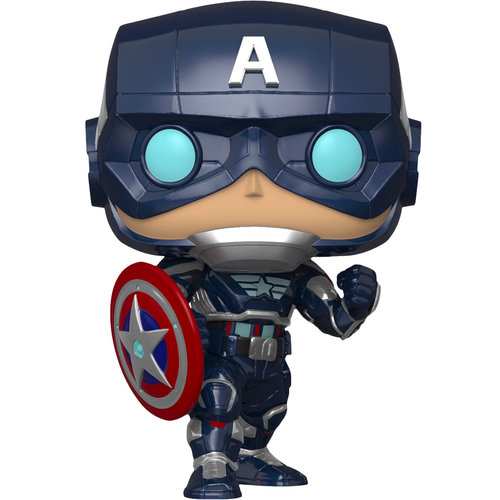 Funko Captain America #627 (Avengers Gamerverse) POP! Games