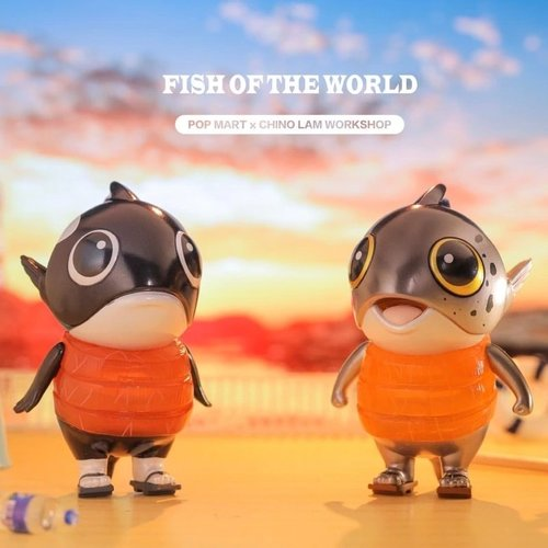 Pop Mart Fish of the World Mini Series by Chino Lam