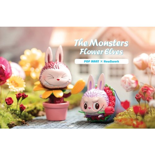 Pop Mart Labubu - Flower Elves Series by How2Work