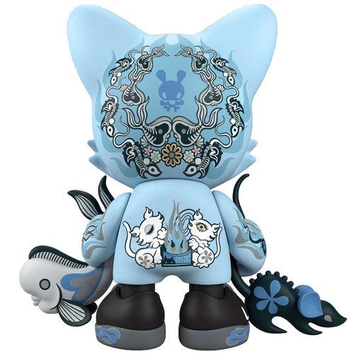 Superplastic Azure Ailurophile (Blue) Superjanky by Junko Mizuno