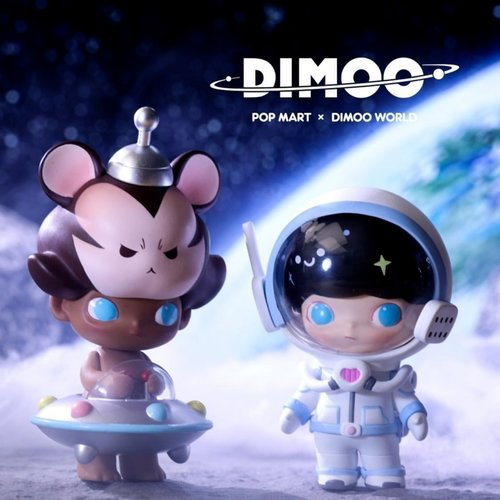 Pop Mart Dimoo - Space Travel Series by Ayan Tang