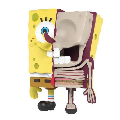 Mighty Jaxx Hidden Dissectables (Spongebob - OG) Blind Box Series by Jason Freeny