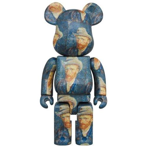 Medicom Toys [PRE-ORDER] 1000% Bearbrick - Vincent Van Gogh (Self Portrait)