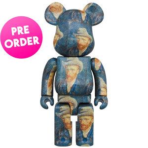 Medicom Toys [PO] 1000% Bearbrick - Vincent Van Gogh (Self Portrait)