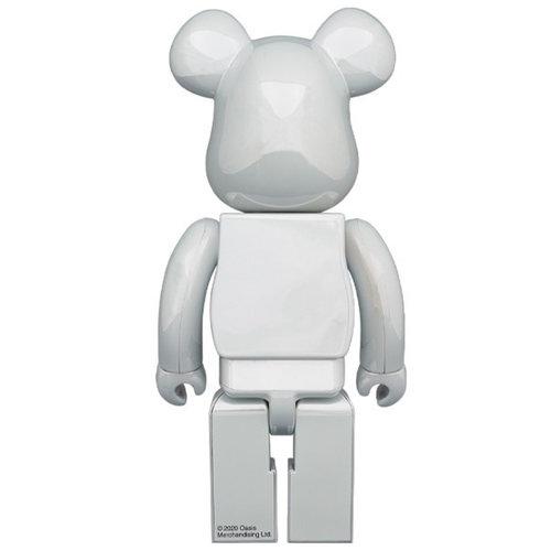 Medicom Toys 400% & 100% Bearbrick set - Oasis (White Chrome)
