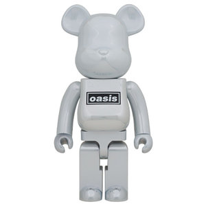 Medicom Toys 1000% Bearbrick - Oasis (White Chrome)