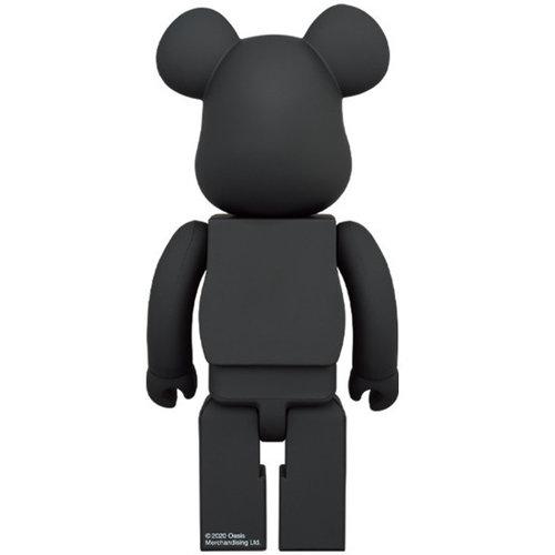 Medicom Toys 400% & 100% Bearbrick set - Oasis (Black Rubber)