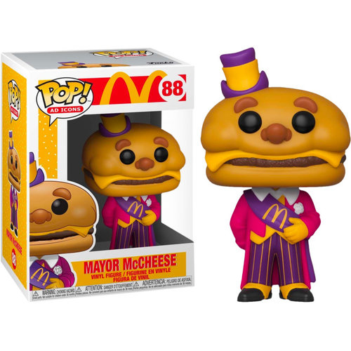 Funko Mayor McCheese #88 (McDonald's) POP! Ad Icons