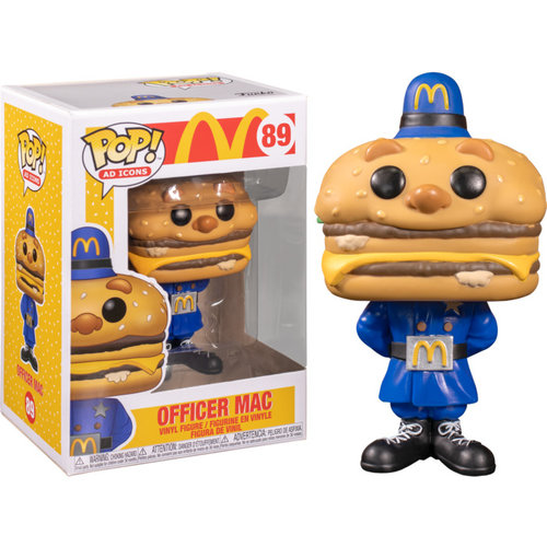Funko Officer Mac #89 (McDonald's) POP! Ad Icons