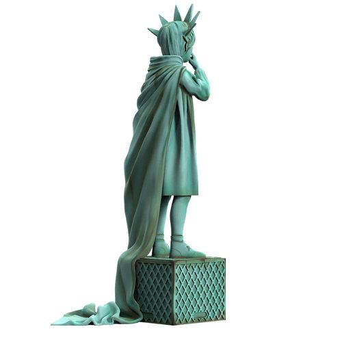 Mighty Jaxx [Pre-Order] Liberty Girl (Freedom) by Brandalised x Banksy
