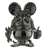 "Rat Fink (Black Chrome) #15 (Ed ""Big Daddy"" Roth) POP! Icons"