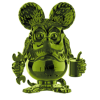 "Rat Fink (Green Chrome) #15 (Ed ""Big Daddy"" Roth) POP! Icons"