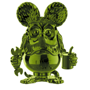 "Funko Rat Fink (Green Chrome) #15 (Ed ""Big Daddy"" Roth) POP! Icons"