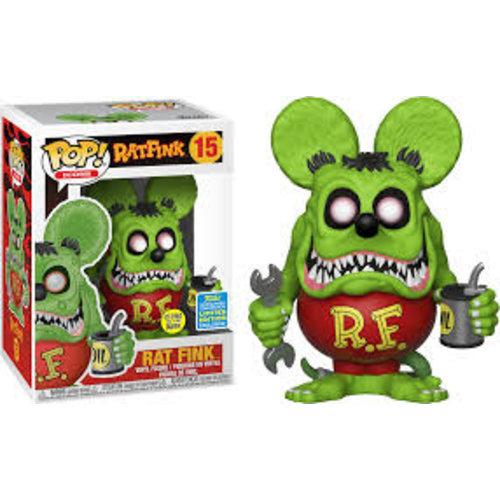 "Funko Rat Fink (GID) #15 (Ed ""Big Daddy"" Roth) POP! Icons"