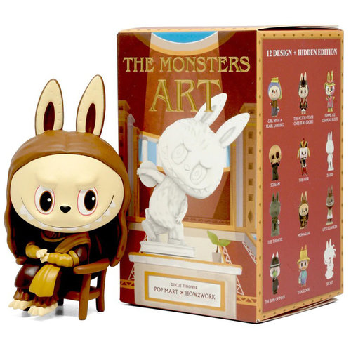 Pop Mart Labubu - The Monsters Art Series by How2Work