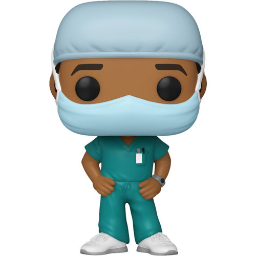 Funko Male Frontline Worker (Green) POP! Special Edition