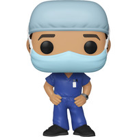 Male Frontline Worker (Blue) POP! Special Edition