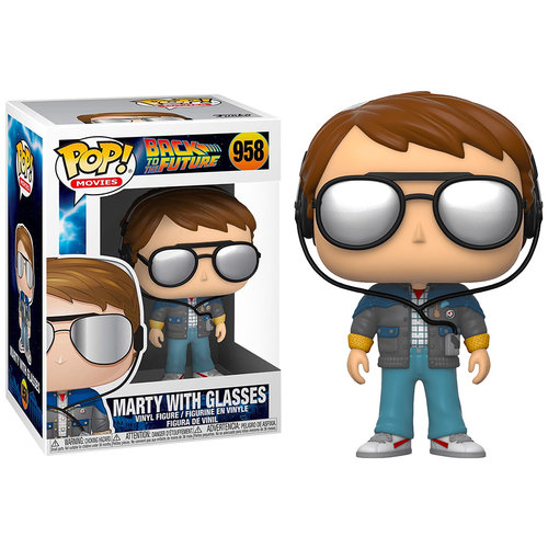 Funko Marty with glasses #958 (Back to the Future) POP! Movies