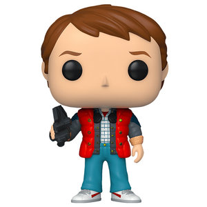 Funko Marty in Puffy Vest #961 (Back to the Future) POP! Movies
