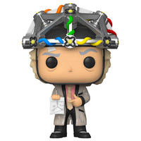 Doc with Helmet #959 (Back to the Future) POP! Movies