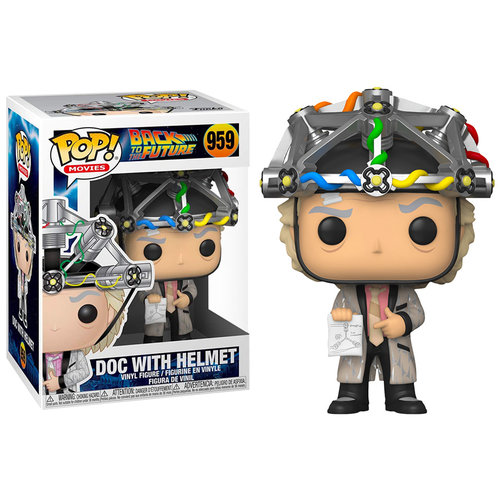 Funko Doc with Helmet #959 (Back to the Future) POP! Movies