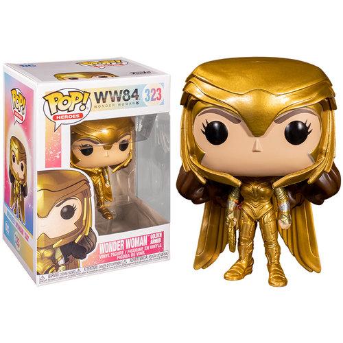 Funko Wonder Woman (Golden Armor) #323 (Wonder Woman) POP! Heroes