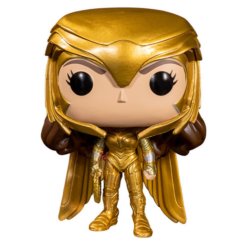 Funko Wonder Woman (Golden Armor) #323 (Wonder Woman) POP! Movies