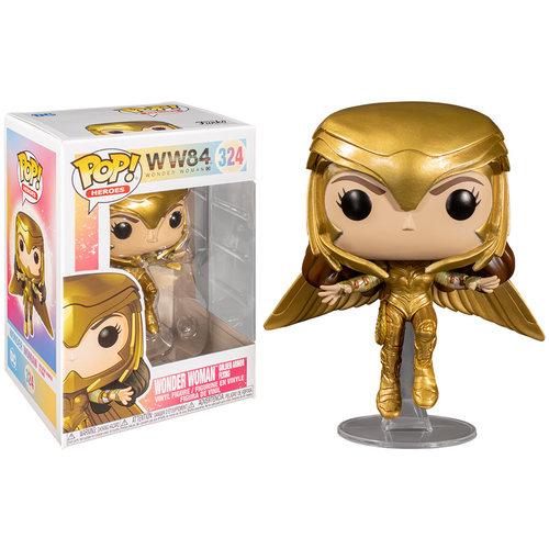 Funko Wonder Woman (Golden Armor Flying) #324 (Wonder Woman) POP! Heroes