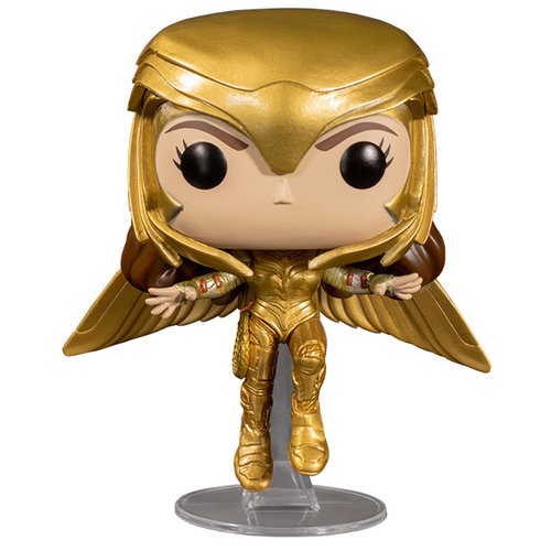 Funko Wonder Woman (Golden Armor Flying) #324 (Wonder Woman) POP! Movies